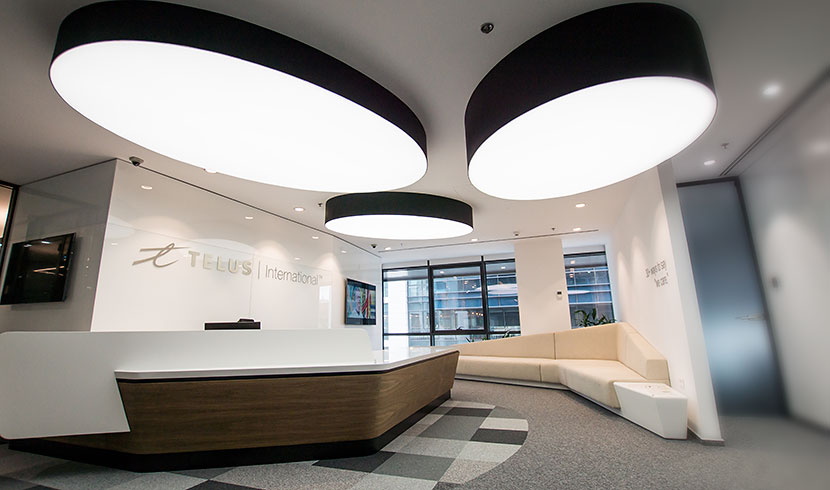 Telus reception